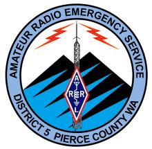 Amateur Radio Emergency Service-District 5-Pierce County